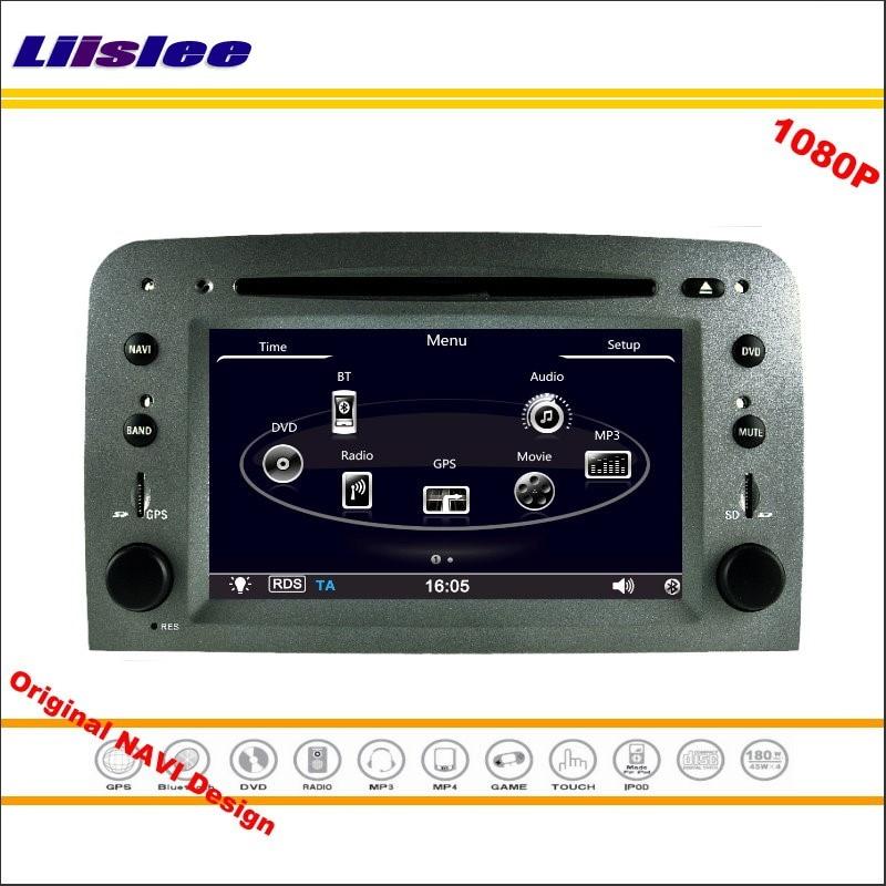 Liislee pour Alfa Romeo 147/GT 2005 autoradio lecteur CD DVD Navigation GPS 1080 P système d'écran HD conception originale NAVI