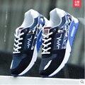 Мода Мужская Обувь Повседневная Дышащие Квартиры Обувь Спорт Мужчины Кроссовки Zapatos Mujer Обувь Zapatillas Хомбре