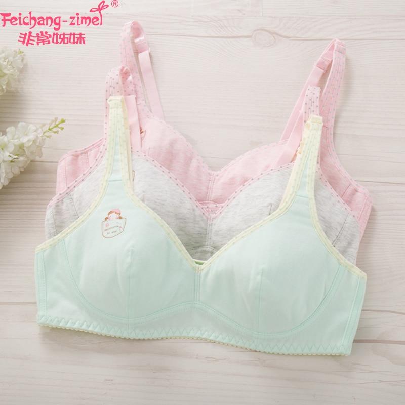 Free Shipping 2017 Feichangzimei Teenage Girl Underwear