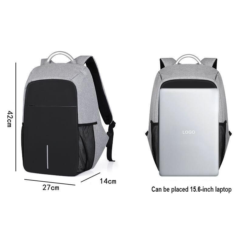 a9df1a5e3c4 Νέος σχεδιασμός Σακίδιο φορητού υπολογιστή 15.6 ιντσών αρσενικό USB ...