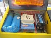 מכונת חריטת לייזר CO2 עבודת גילוף ממוחשבת בטוח ה-FDA תואם עם קירור מאוורר