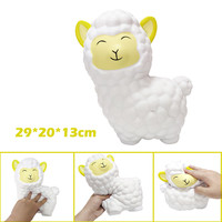 squeeze toys squishy cartoon Adorable Super alpaca Soft Sloth Slow Rising Fruit Scented Stress Relief Gifts kids toys L0703