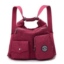 Neue Frauen Tasche Doppel Umhängetasche Designer-handtaschen Hohe Qualität Nylon Weiblichen Handtasche bolsas sac ein haupt