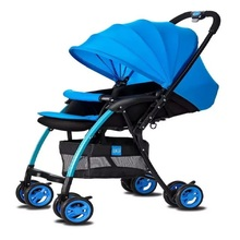BBH aluminum alloy frame two-way push awning adjustable lightweight baby stroller
