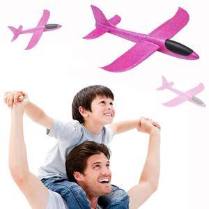 Image 3 - 48 ซม.โยนบินเครื่องร่อนเครื่องบินโฟมเครื่องบิน EPP Resistant เครื่องบินเกมเด็กโฟมเครื่องบินพลาสติก