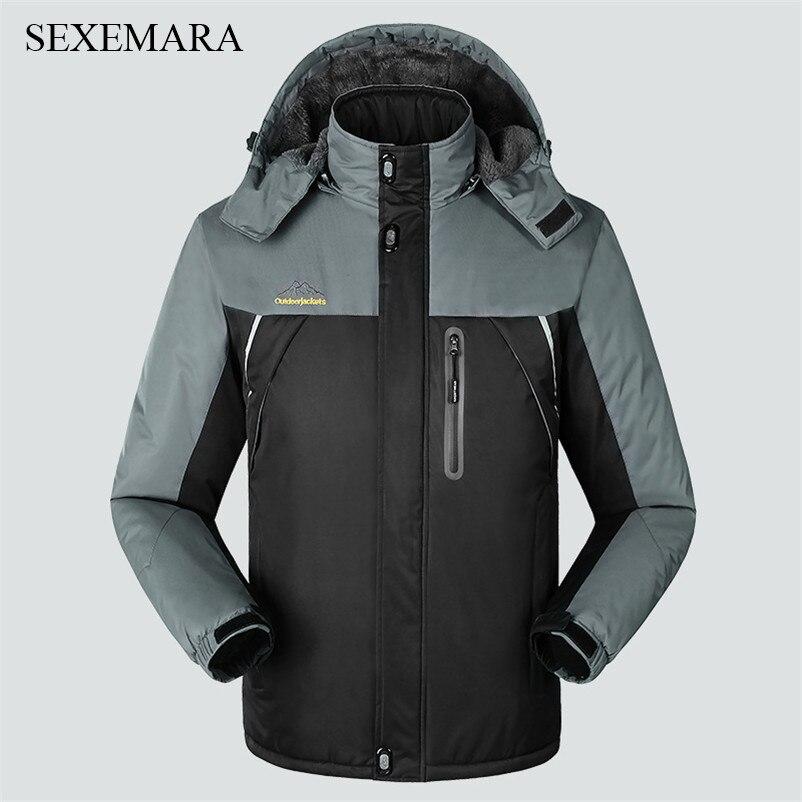 Prix pour SEXEMARA ski veste hommes hiver imperméables en plein air ski vestes respirant mens randonnée escalade camping veste 1 pc