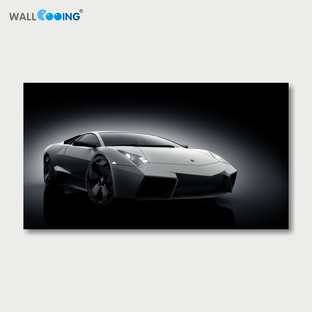 canvas painting posters and prints art black and white car picture superhero canvas art setting spray image of the wall