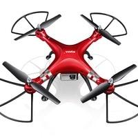 Syma professionele uav x8hg 2.4g 4ch rc quadcopter gyroscoop remote controle drone met 1080 p hd camera rode kids volwassenen toys geschenken