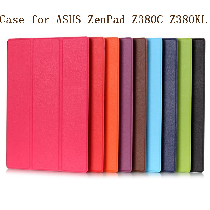 все цены на Magnet Leather Cover Stand Case for Asus Zenpad 8.0 Z380 Z380C Z380KL Tablet + Screen Protectors + Stylus онлайн