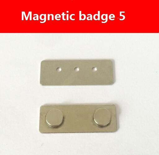 30pcs magnetic name badge id badge name tag holder super strong