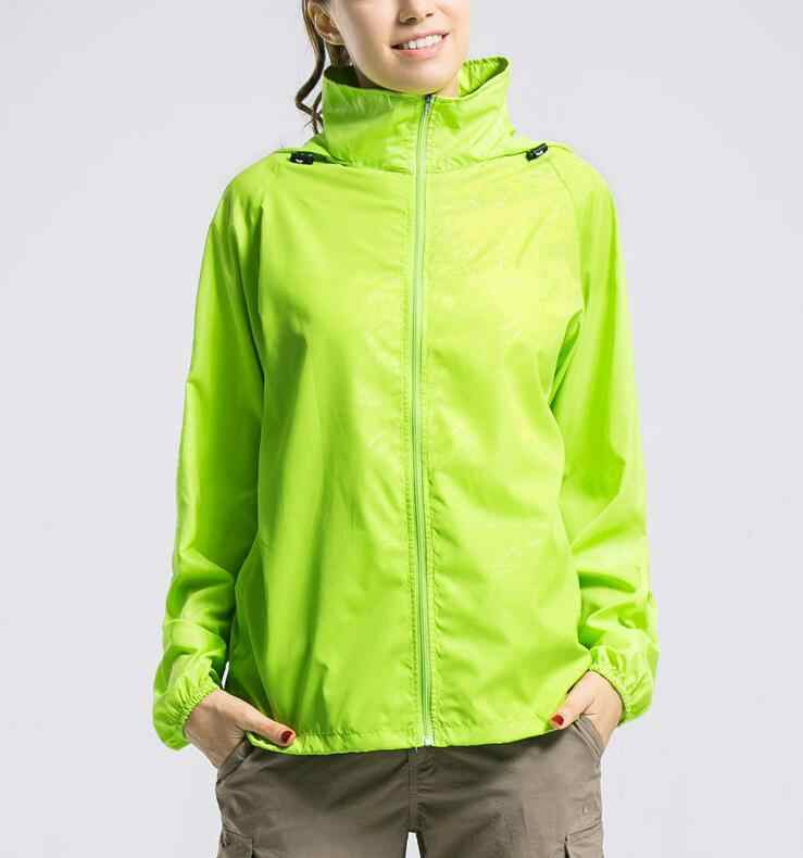 2019 abrigo de piel de secado rápido de marca para hombre, protector solar, impermeable, UV, para mujer, chaqueta ultraligera para el ejército WZ06Y