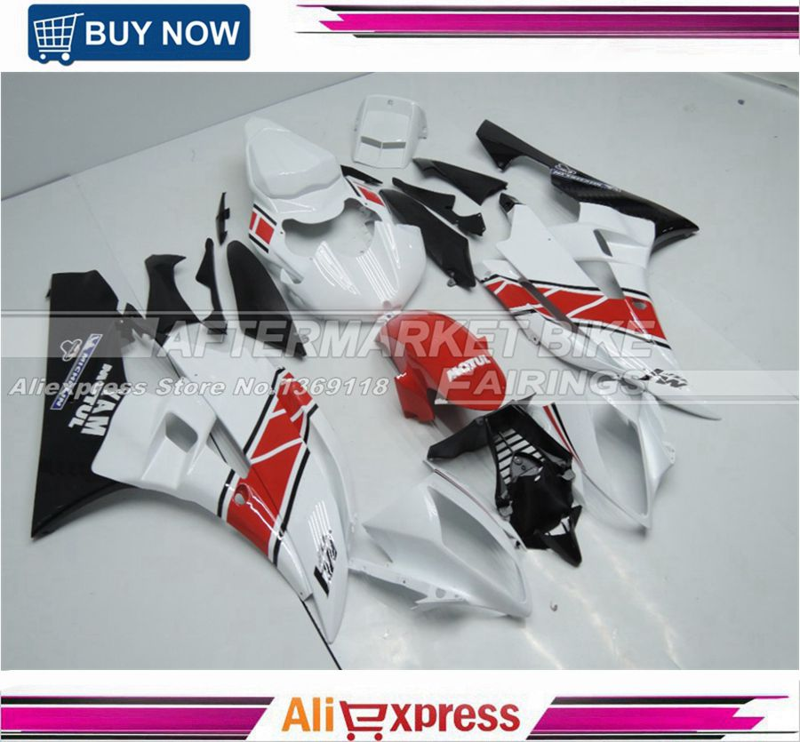 For Yamaha M1 50th Anniversary Color ABS Plastic Injection YZF R6 2006 2007 Motorcycle Fairings Cowling