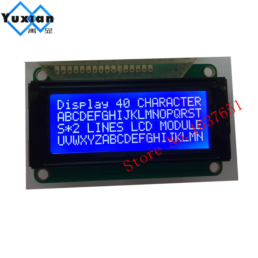 free shipping 2PCS small mini size 2004 LCD 20*4 lcd display 77*47mm Blue 5v 2004E WH2004Dfree shipping 2PCS small mini size 2004 LCD 20*4 lcd display 77*47mm Blue 5v 2004E WH2004D