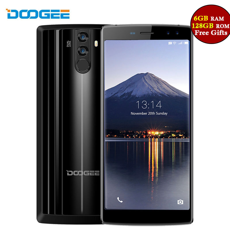 DOOGEE BL12000 Pro 6GB RAM 128GB ROM Smartphone 6.0 Inch FHD+18:9 Quad Camera 16MP+13MP Android 7.0 OTG OTA 12000mAh Big Battery