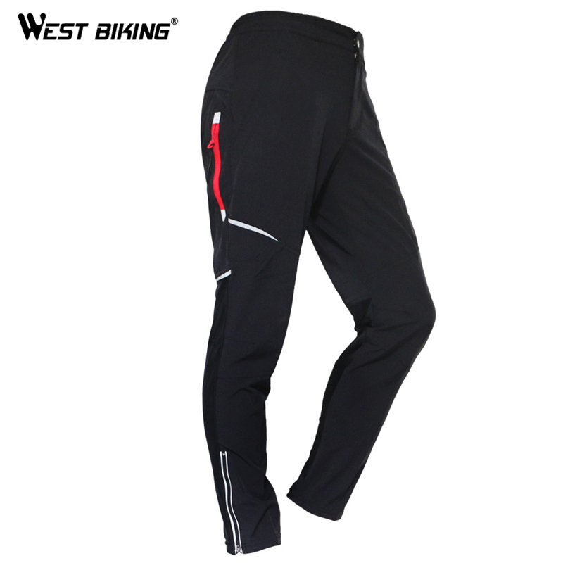 WEST BIKING Summer Cycling Riding Pants Sport Bicycle Pants Mens MTB Bike Long Trousers Pantalon De Ciclismo Cycling Bike Pant