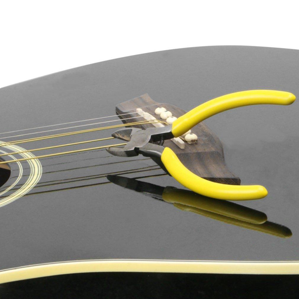 Gitarre Wartung Werkzeug Schneiden String Zangen Gelb Getrimmt ...