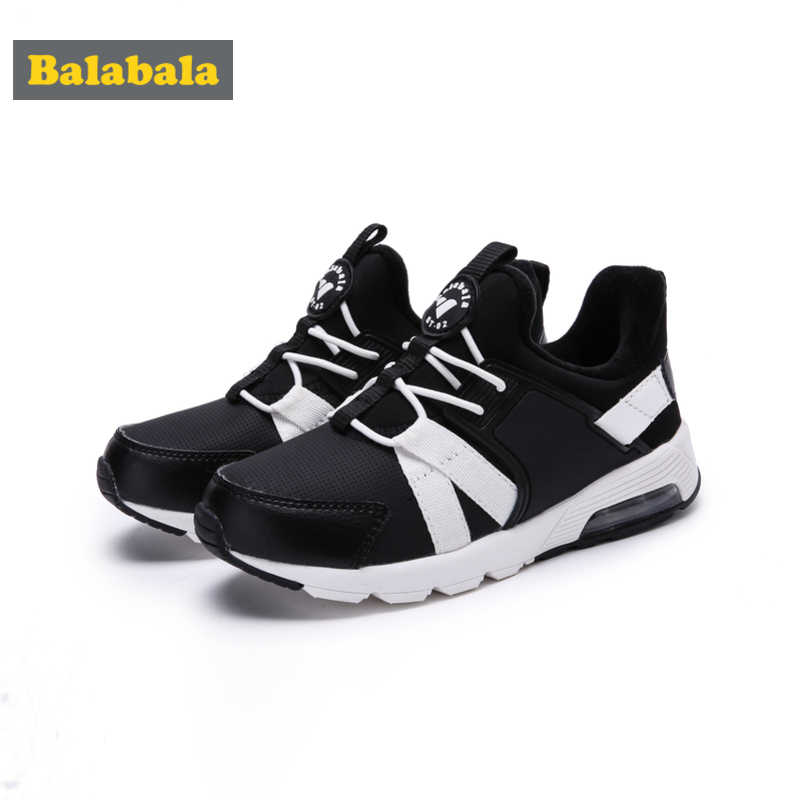 Balabala Boys Fleece-Lined Slip On Sneakers Kids Toddler Boy Casual Sneakers with Decorative Lacing Padded Insole Anti-slip Sole