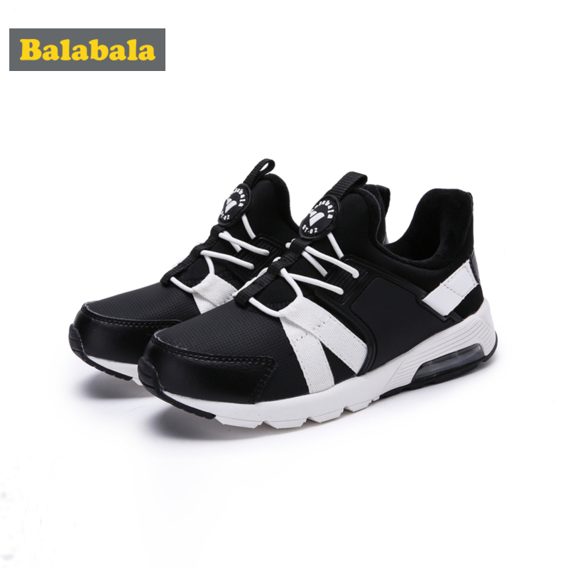 Balabala Boys Fleece-Lined Slip On Sneakers Kids Toddler Boy Casual Sneakers with Decorative Lacing Padded Insole Anti-slip SoleBalabala Boys Fleece-Lined Slip On Sneakers Kids Toddler Boy Casual Sneakers with Decorative Lacing Padded Insole Anti-slip Sole