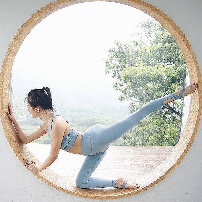 Femmes costume sport course 2 pièces/ensemble Sportswear haut de sport soutien-gorge + extensible Fitness Leggings sans couture ventre contrôle Gym Yoga ensembles