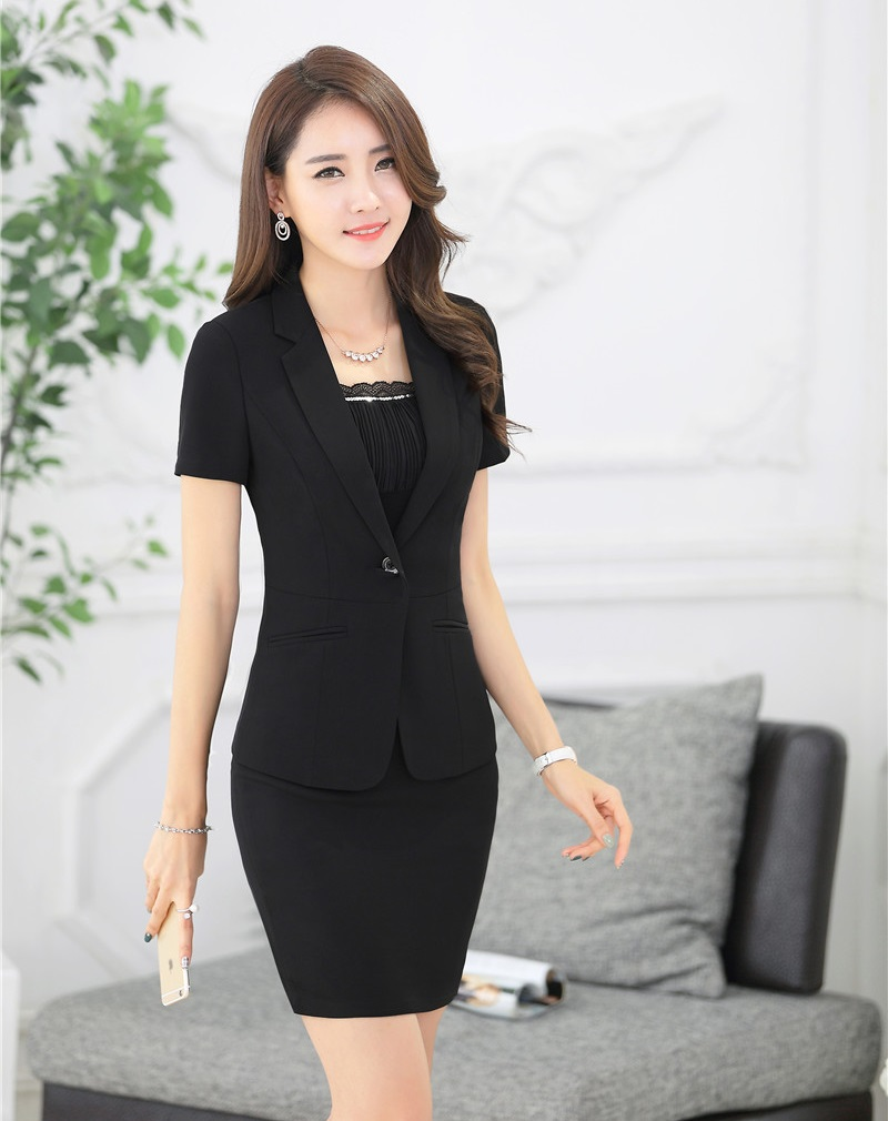 Popular Black Skirt Designer Suit-Buy Cheap Black Skirt Designer
