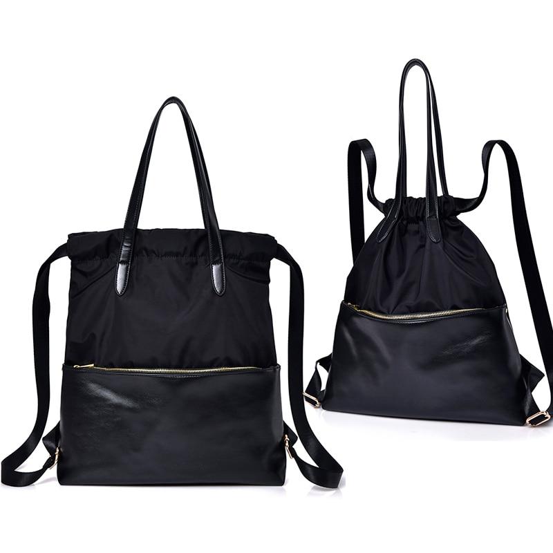 New Fashion Women's Backpack Female Travel Backpacks Bags Waterproof Nylon Multi-purpose Messenger Back Pack Shoulder Bags