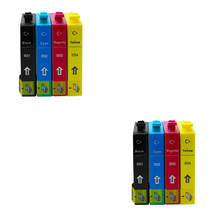 8pcs For Epson T0551 Ink Cartridges For Epson Stylus Photo RX420 RX425 RX520 R240 R245 Printer Inkjet With Chip Full ink 0551 [kld inkjets] pro10600 with chip and eco solvent ink cartridges t5491 t5492 t5493 t5494 t5495 t5496 t5498 6pcs