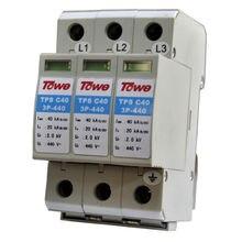 Трехфазный протектор перенапряжения Тапа ap c40 3p применяется