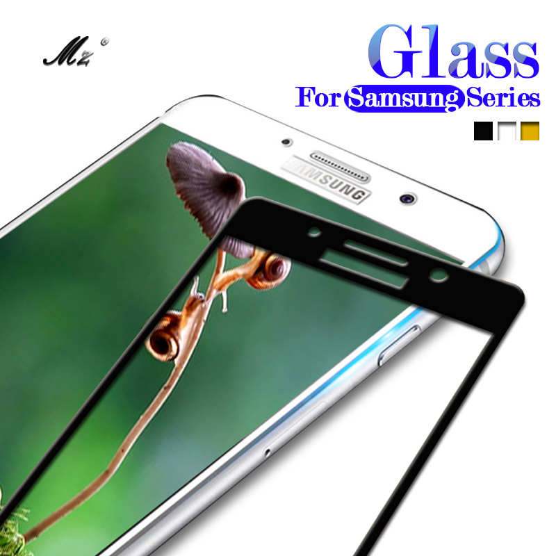 A730F Tempered Glass Screen Protector Case For Samsung Galaxy A8 Plus 2018 A3 A5 A7 J3 J5 J7 2016 2017 S3 S5 S6 S7 J2 Prime Film