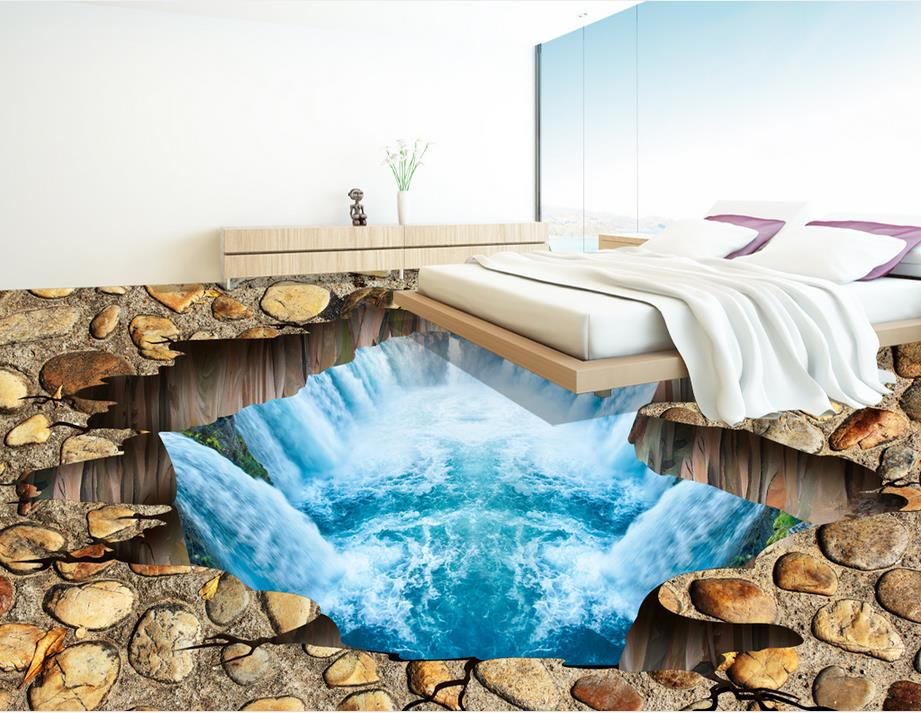 3d pvc flooring waterproof wallpaper custom 3d flooring Kowloon fish self adhesive 3d mural wallpaper 3d floor tiles free shipping marble texture parquet flooring 3d floor home decoration self adhesive mural baby room bedroom wallpaper mural