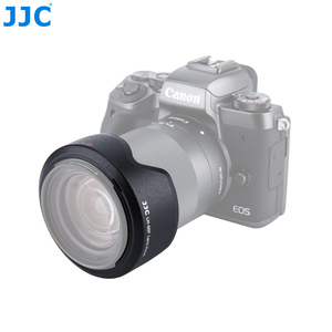 Image 3 - JJC Camera Flower Shade Lens Hood for CANON EF M 18 150mm Lens On Canon EOS M200 M100 M50 M10 M6 Mark II M5 Replace Canon EW 60F