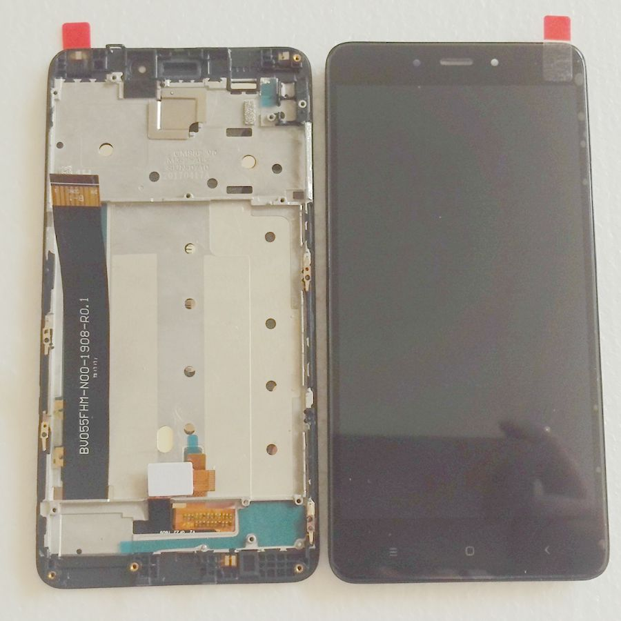 5.5 For Xiaomi Redmi Note 4 (Helio X20) versionLcd Display Screen+Touch Glass Digitizer Frame Assembly Black/Gold/White