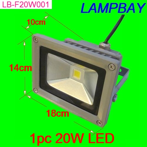 (30 Pack) Free Shipping LED Floodlight 20W warm white natrual white cold white waterproof IP65 LED street lamp