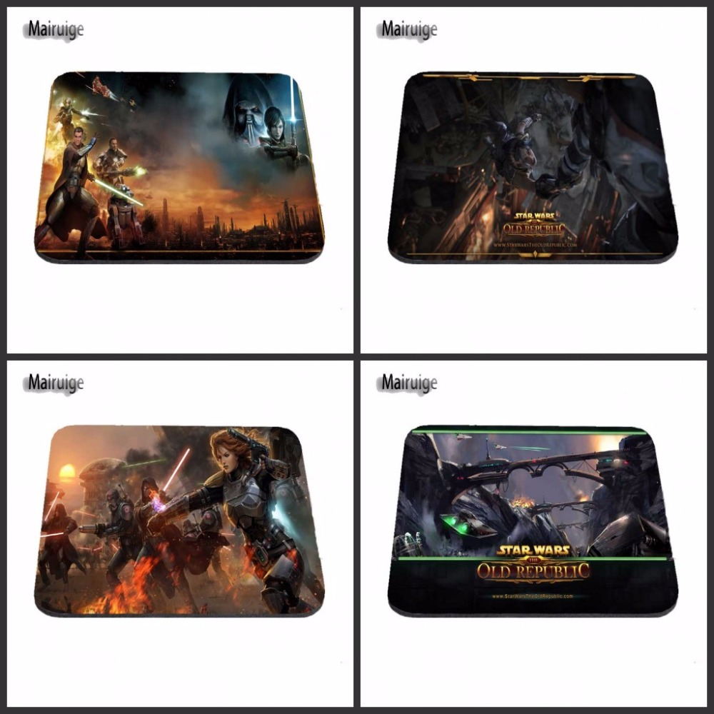 Top Selling Hot Game Movie Star wars Printing Mousepad Anti-slip Optical Rectangle Mice Mat PC Computer Gaming Speed Play Pads image