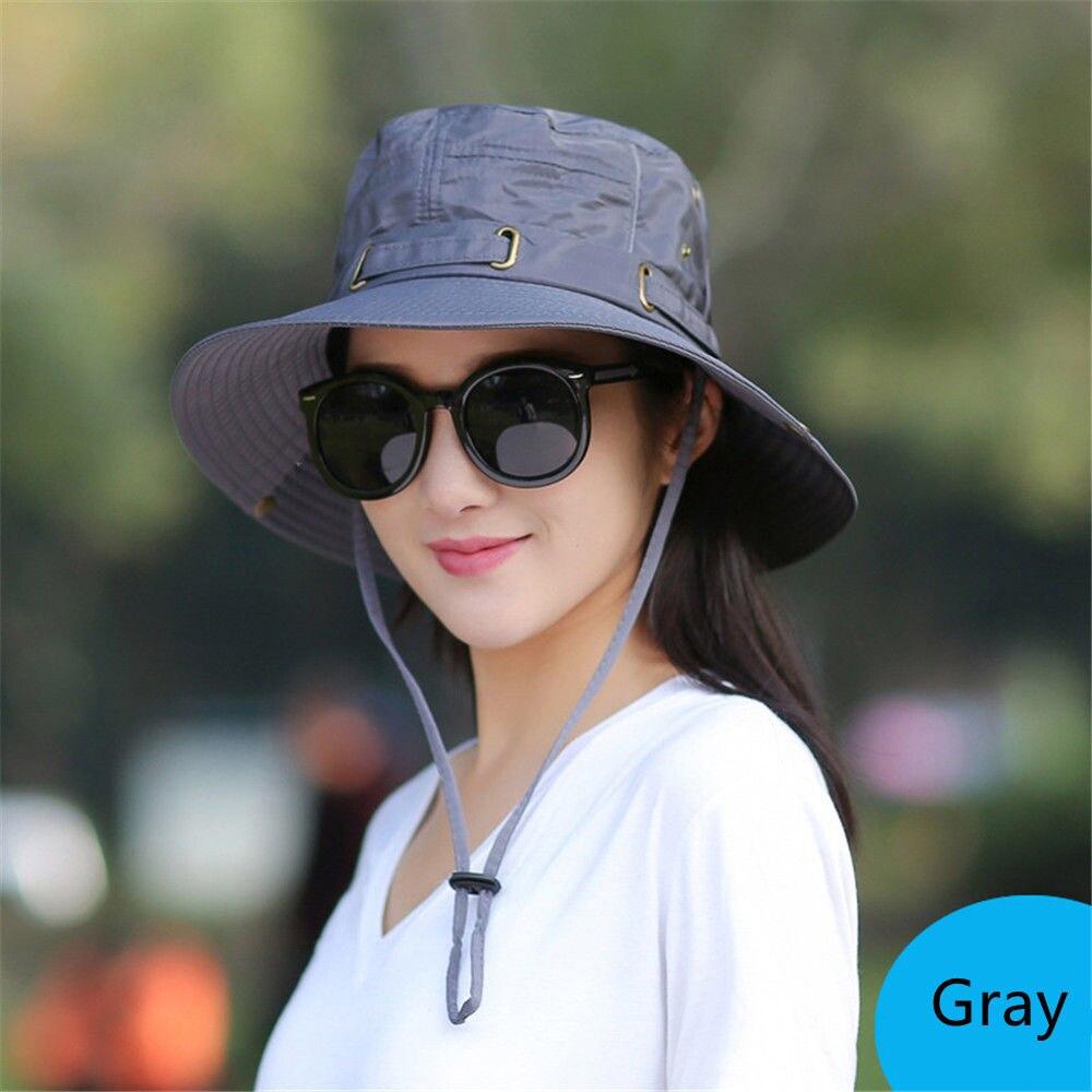 Quick-drying Army Beach Cap Men bucket hat Wide Brim fisherman hat Women Summer Fishing Hiking Cap UV Protection Gorro Sun Hat