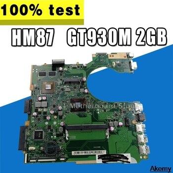 P452SJ Laptop Motherboard For Asus P452S P452SJ PRO452S Mainboard 100% Teste OK N3150/N3160 CPU GT920M/2GB