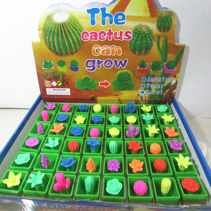 Will grow up the Christmas tree Expansion plant toy swells in water funny