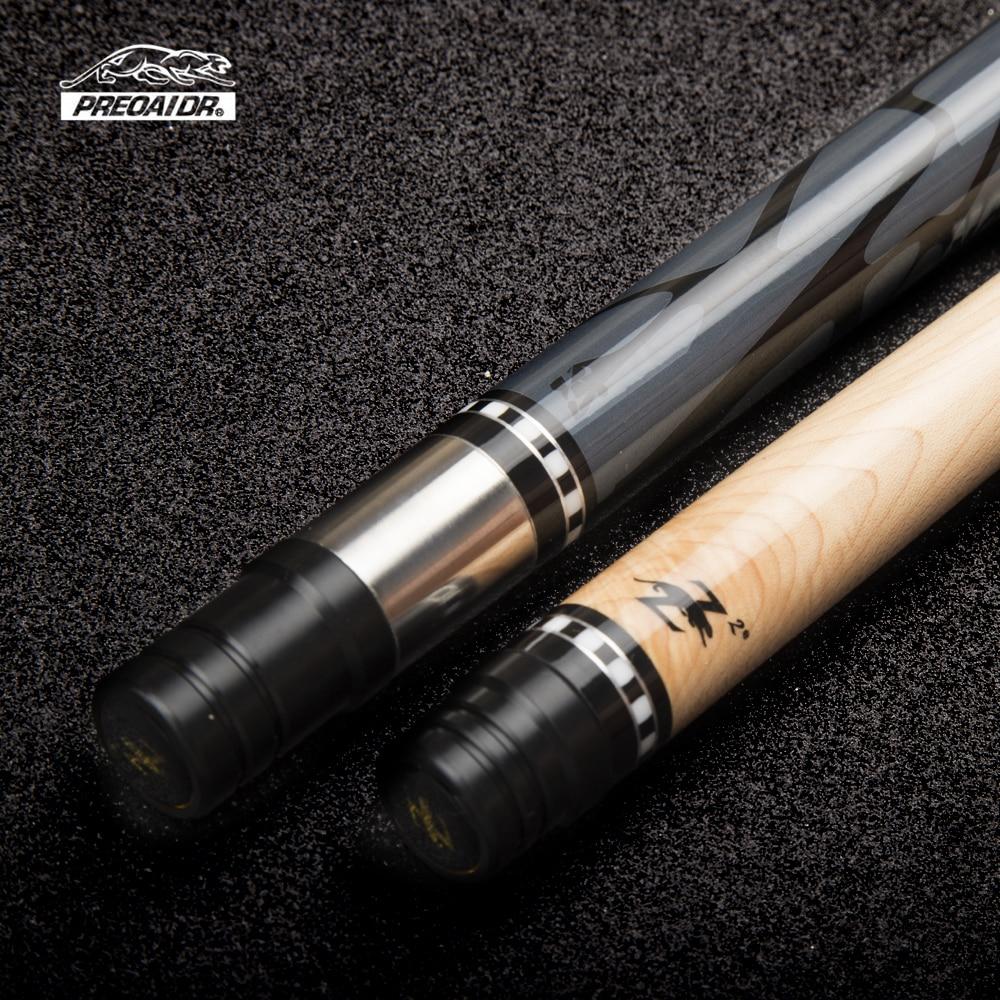 PREOAIDR 3142 Z2 queue de billard 11.5mm/13mm pointe bâton Kit érable avec étui avec cadeau 147cm neuf boule noir 8 fait main 2019 - 3
