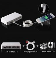 Смартфон розничный магазин 10-порт Централизованная система безопасности с функцией сигнала тревоги зарядки и
