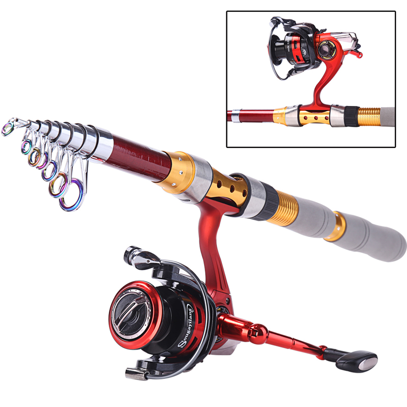 Fishing rod and spinning reel strong telescopic fishing for Strongest fishing rod