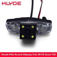 170Degree CCD Car Rear View Reverse Backup Parking Camera For Honda Accord Pilot Civic Odyssey Acura TSX Waterproof Night Vision