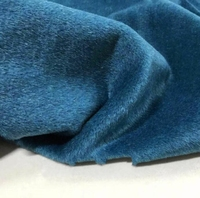 New Peacock blue thick wool cotton fabric coat suit ,printing super wax hollandais african sequin christma tulle fabric A074