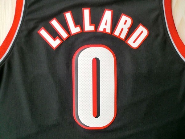 d83bf97d7 Free shipping Hot Sale Damian Lillard Jersey 0   Portland Trail White Color  Wholesale
