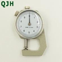Цифровой толщиномер измеритель толщины кожи и бумаги 0 10 мм/0
