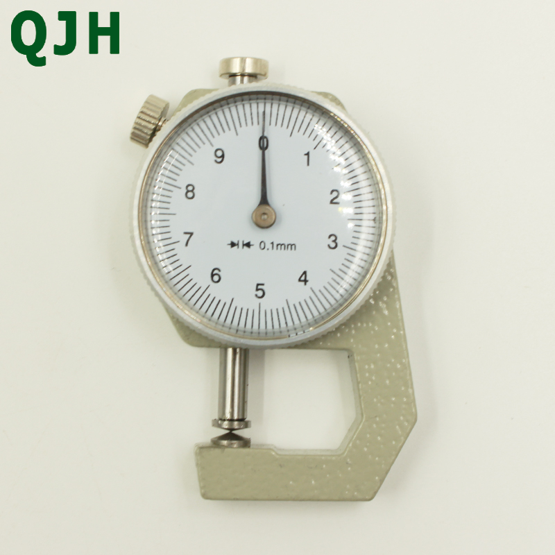 0.1mm Digital Thickness Gauge Meter Leather Paper Film Thickness Measuring Tool 0-10mm  0-20mm Thickness Gauge Leather Tools