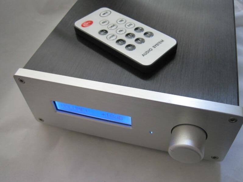 New version PGA2311 3 ways Remote Pre-amplifier Preamp queenway dq1 preamplifier pre amp preamp pre amplifier pre amplifier class a delicate amplifier 1 85kg