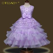 39d0f8da1 Flower Girl Crystal Diamond Princess Dresses for Teenagers Wedding Birthday  Party Dresses for Girls 10 11
