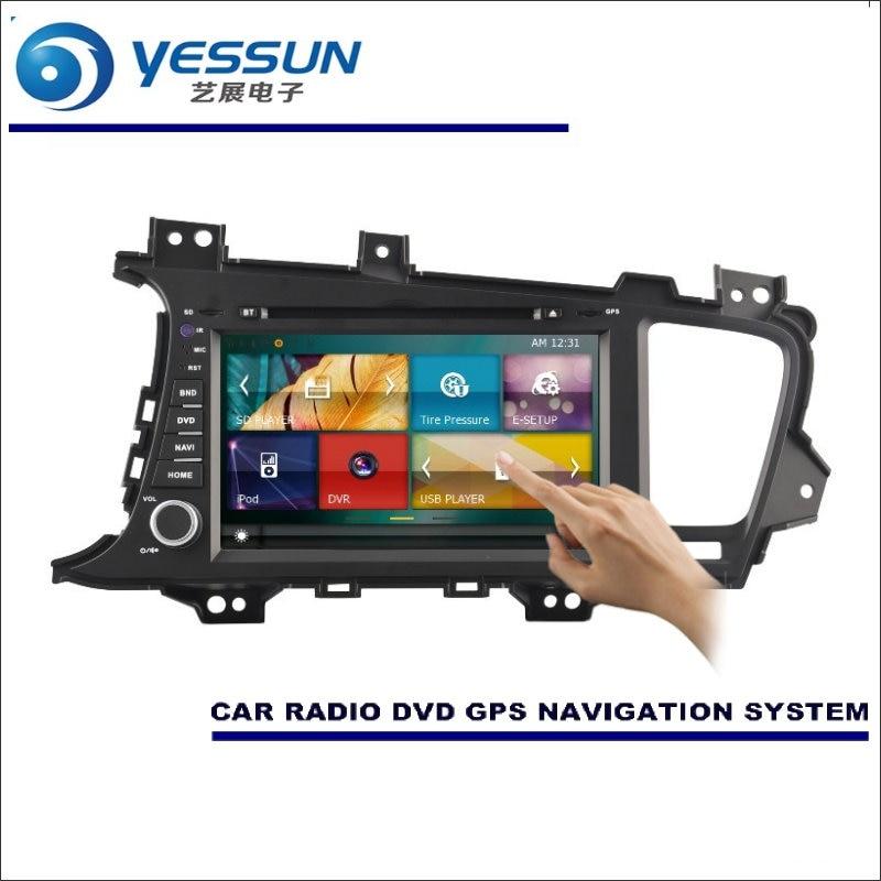 YESSUN pour Kia K5/Optima K5 2010 ~ 2015 autoradio lecteur CD DVD amplificateur écran GPS carte Navigation Navi système Audio vidéo
