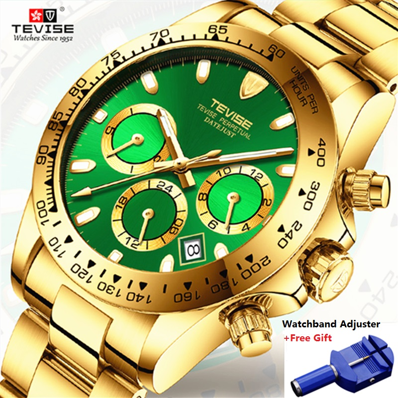 TEVISE Mens Watches Top Brand Luxury Wristwatches Automatic Watch Men Mechanical Watches Casual Male Clock Relogio