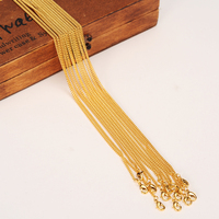 12pcs gold filled necklace Chain For Men Necklace Vintage chunky Fashionwomen Necklace Cuban boys Link Chain PNG Jewelry gift