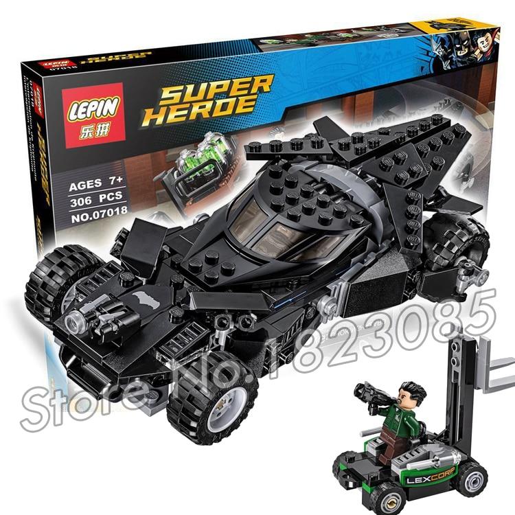 3007018 Batman vs Superman Marvel DC Comics Kryptonite Interception DIY Building Blocks Minifigures Compatible with Lego